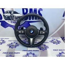 BMW 1 2 3 4 F20 F22 F30 F32 MSPORT STEERING WHEEL PADDLESHIFT